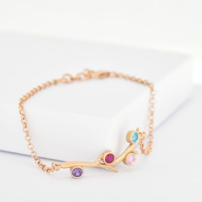 Roots of Love Bracelet [Rose Gold Plated]