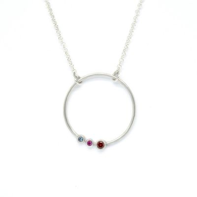 Collier Amour de Maman  [Argent Sterling]