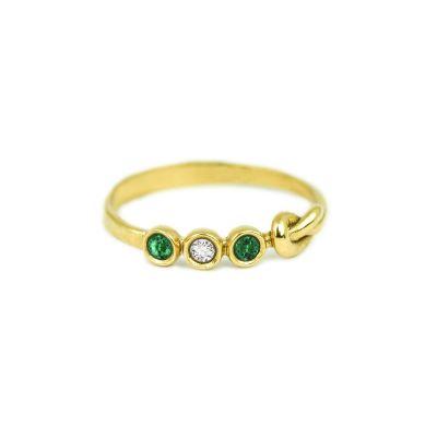 Ties of Love Ring [10K Gold]
