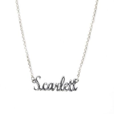 Enchanted Name Necklace [Sterling Silver]