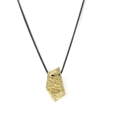 Threads of Life Pentagon Necklace [10K Gold]