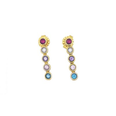 Talisa Stars Earrings [Gold Plated]