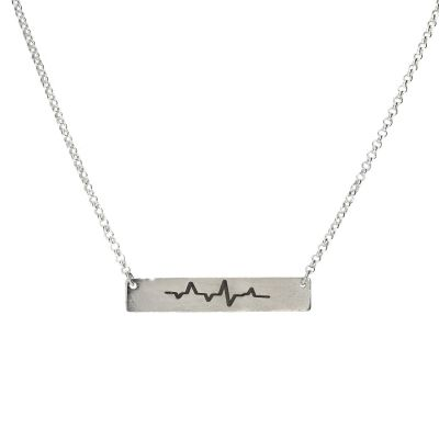 Collier Battement de Coeur [Argent Sterling]