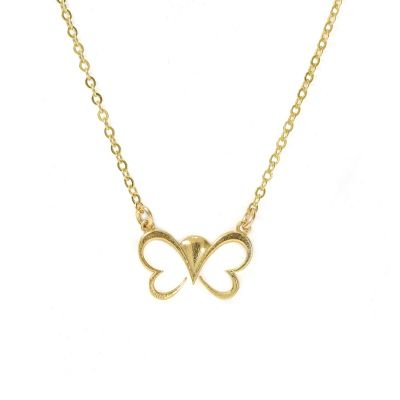 Wings of Joy Necklace [Gold Plated]