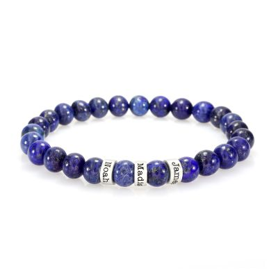 Lapis Women Name Bracelet