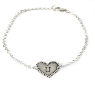 Love U Bracelet [Sterling Silver]