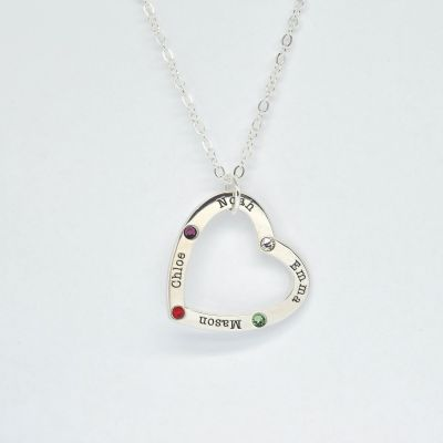 Loves of My Life Necklace [Sterling Silver]