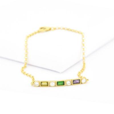 Bracelet d'Amour Éblouissant [Plaqué Or]