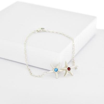 Sea of Stars Bracelet [Sterling Silver]