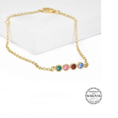 Bracelet Talisa Stars [Or Jaune 14 Carats]