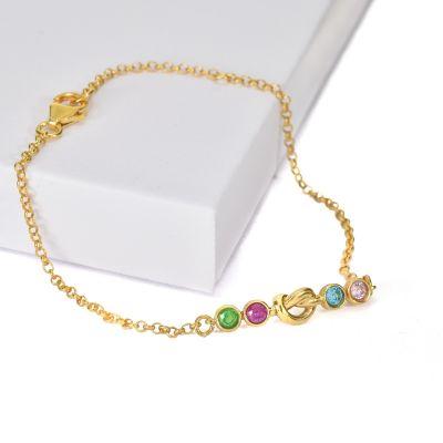 Bracelet Liens de l'Amour [Plaqué Or]