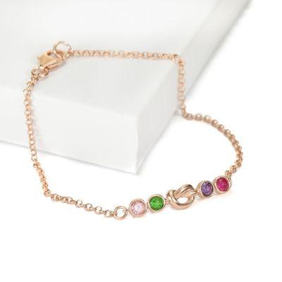 Bracelet Liens de l'Amour [Plaqué Or Rose]