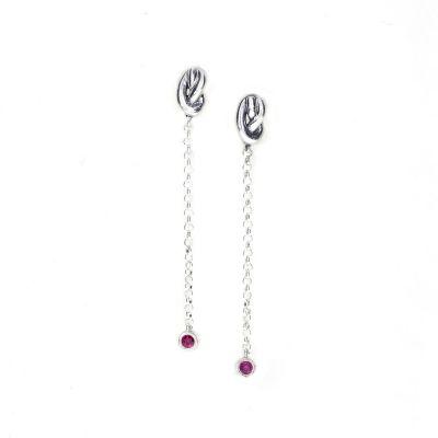 Ties of Love Earrings [Sterling Silver]