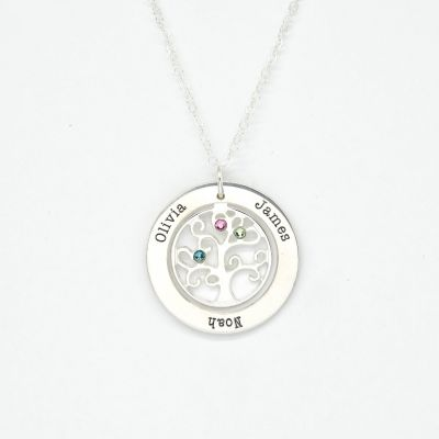 Tree Of Life Necklace [Sterling Silver]