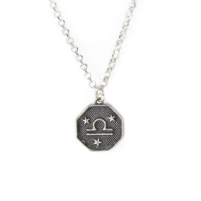 Written in the Stars Zodiac Signs Necklace [Sterling Silver]