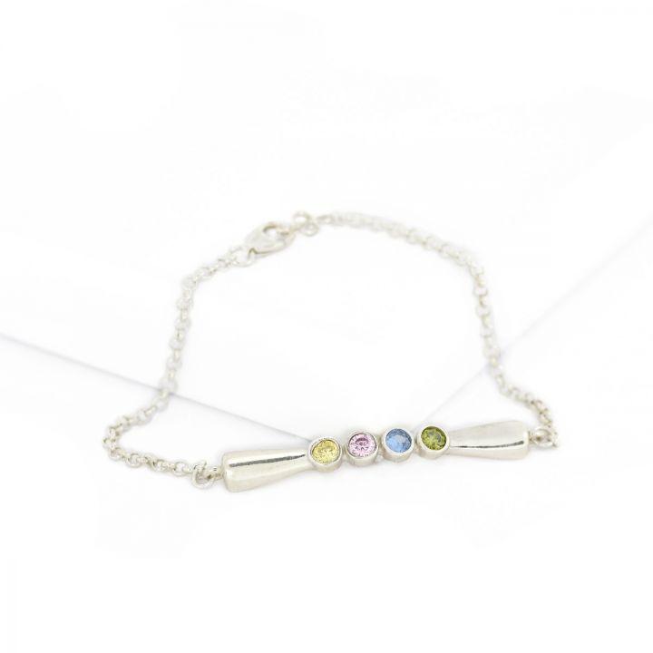 Bow of Love Bracelet [Sterling Silver]