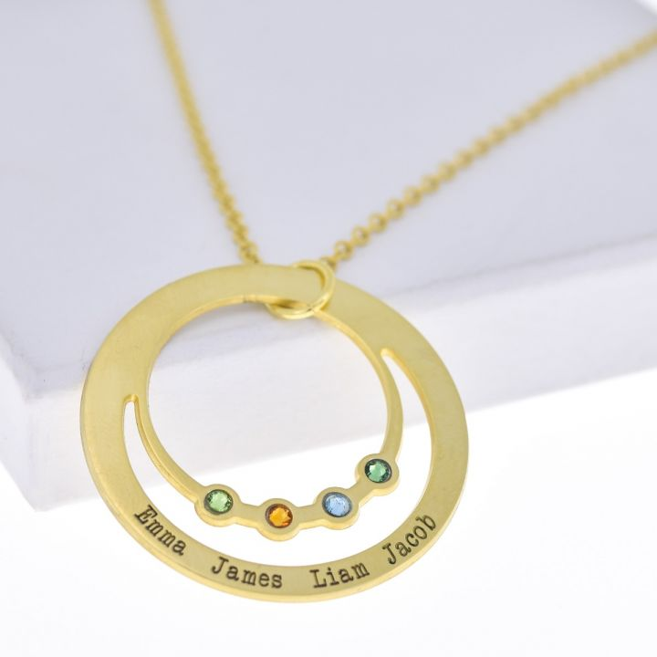 Rays of Love Necklace [Gold Plated]