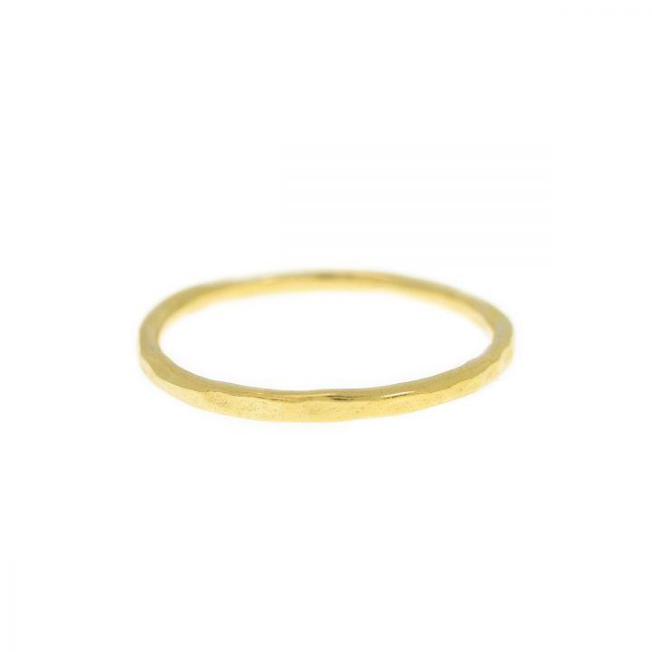 Saturn Ring Set Hammered [10K Gold]