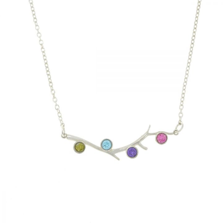 Roots of Love Necklace Horizontal [Sterling Silver]