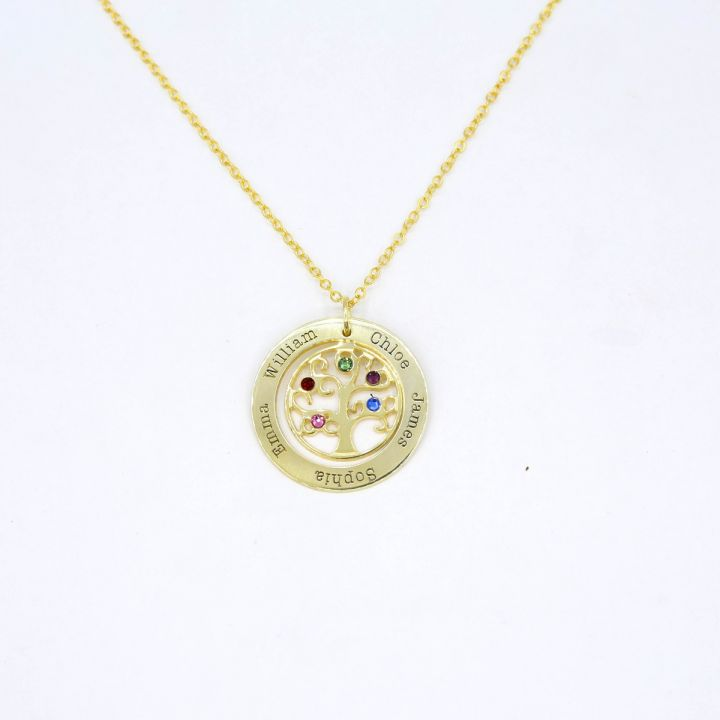 Tree of Life Necklace [Gold Plated]