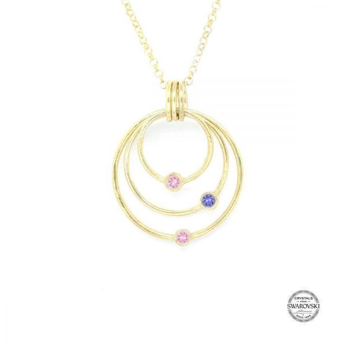 Spheres of Love Necklace [Gold Plated]
