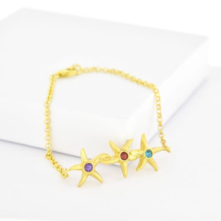 Sea of Stars Bracelet [Gold Plated]