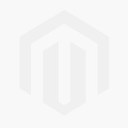 Open Leaf Initial and Birthstone Necklace [Sterling Silver]