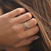 Carina Ring. Small Circle [Sterling Silver]