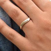 Ocean Tide Name Ring [Sterling Silver]