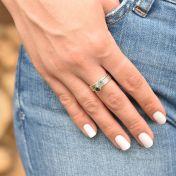 Carina Ring. Big Circle [Sterling Silver]