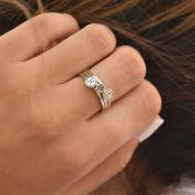 Inspire Initial Ring [Sterling Silver]