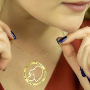 Family Hearts Necklace [Gold Plated]