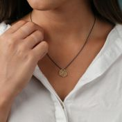 Threads of Life Hexagon Birthstone Necklace [10K Gold]