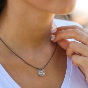 Threads of Life Hexagon Birthstone Necklace [Sterling Silver]