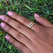 Sunbird Ring [Gold Plated]