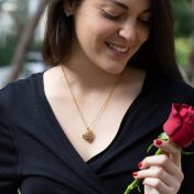 Talisa Hearts Necklace [Gold Plated]
