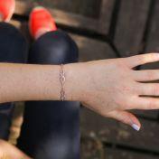 Infinity Bracelet [Rose Gold Plated]