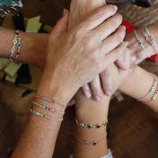 Talisa Stars Birthstone Bracelet [Gold Plated]