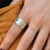 Talisa Classic Name Ring [Sterling Silver]