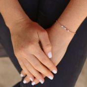 Dazzling Love Bracelet [Rose Gold Plated]