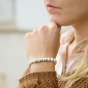 Rhyolite Women Name Bracelet