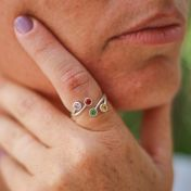 Roots Of Love Ring [Sterling Silver]