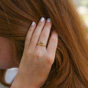 Sunbird Ring [10K Gold]