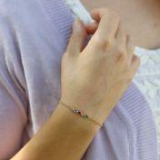 Talisa Stars Birthstone Bracelet [10K Gold]