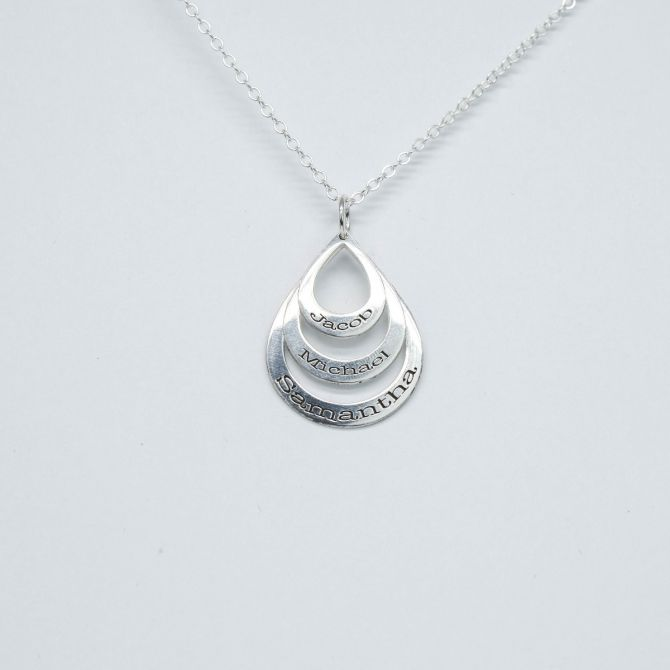 Rain Down Love Necklace [Sterling Silver]
