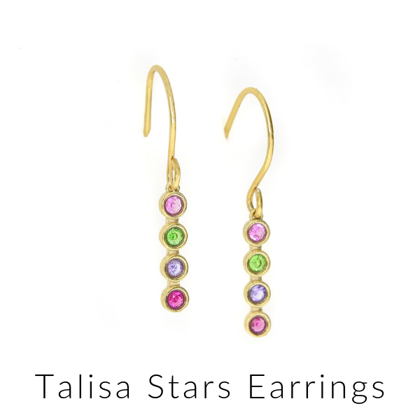 Talisa stars earrings