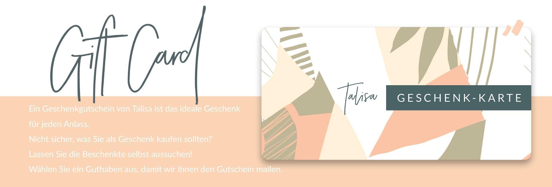 Talisa Jewelry Gift Card