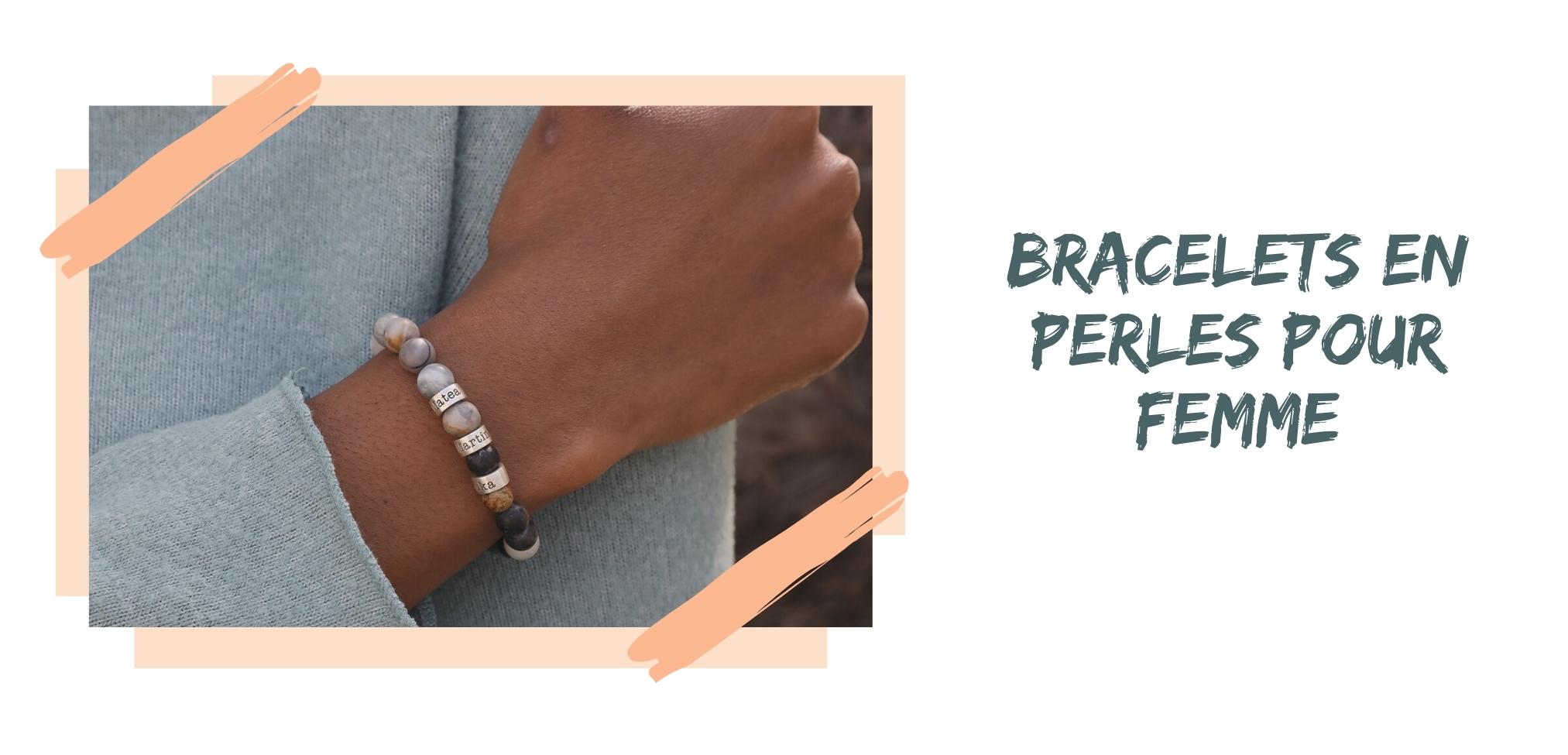 Bracelets en Perles pour Femme