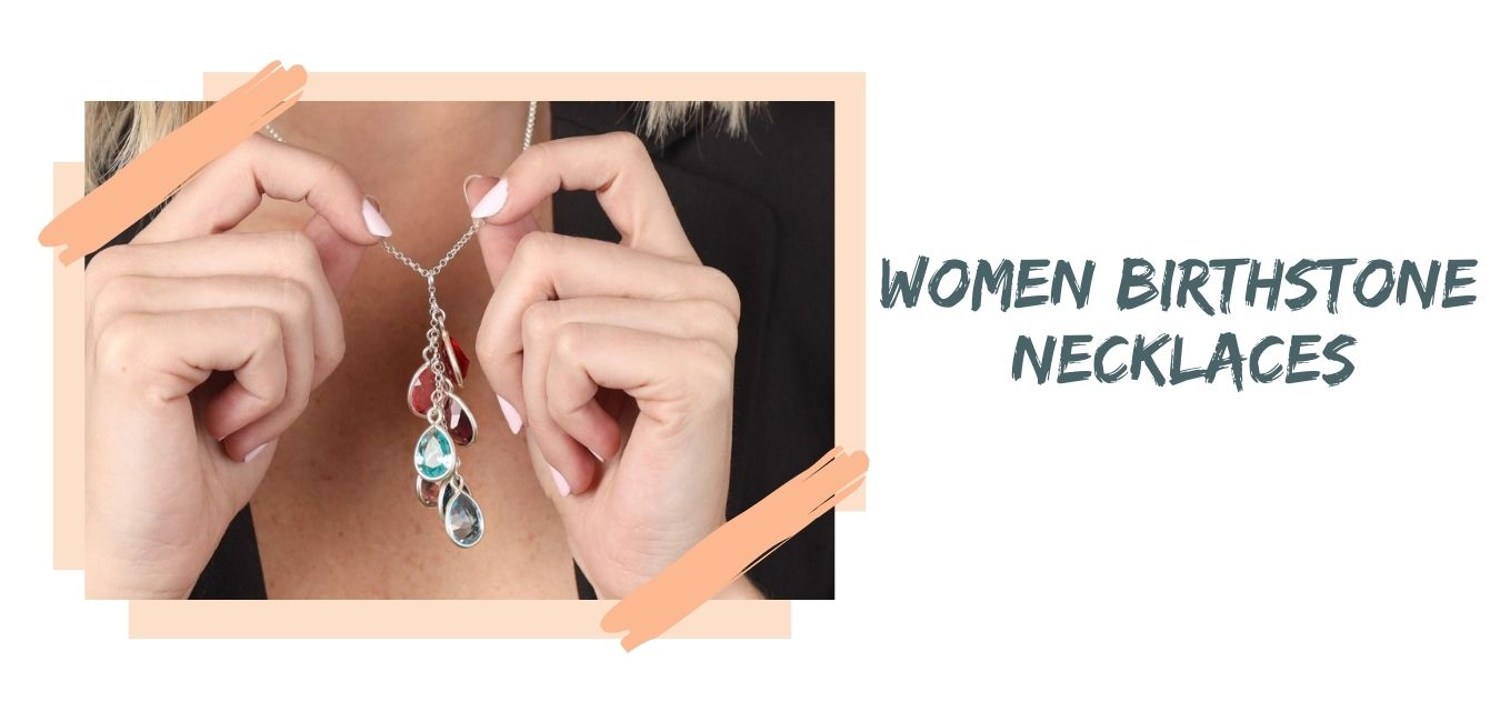 Women Birthstone Necklaces