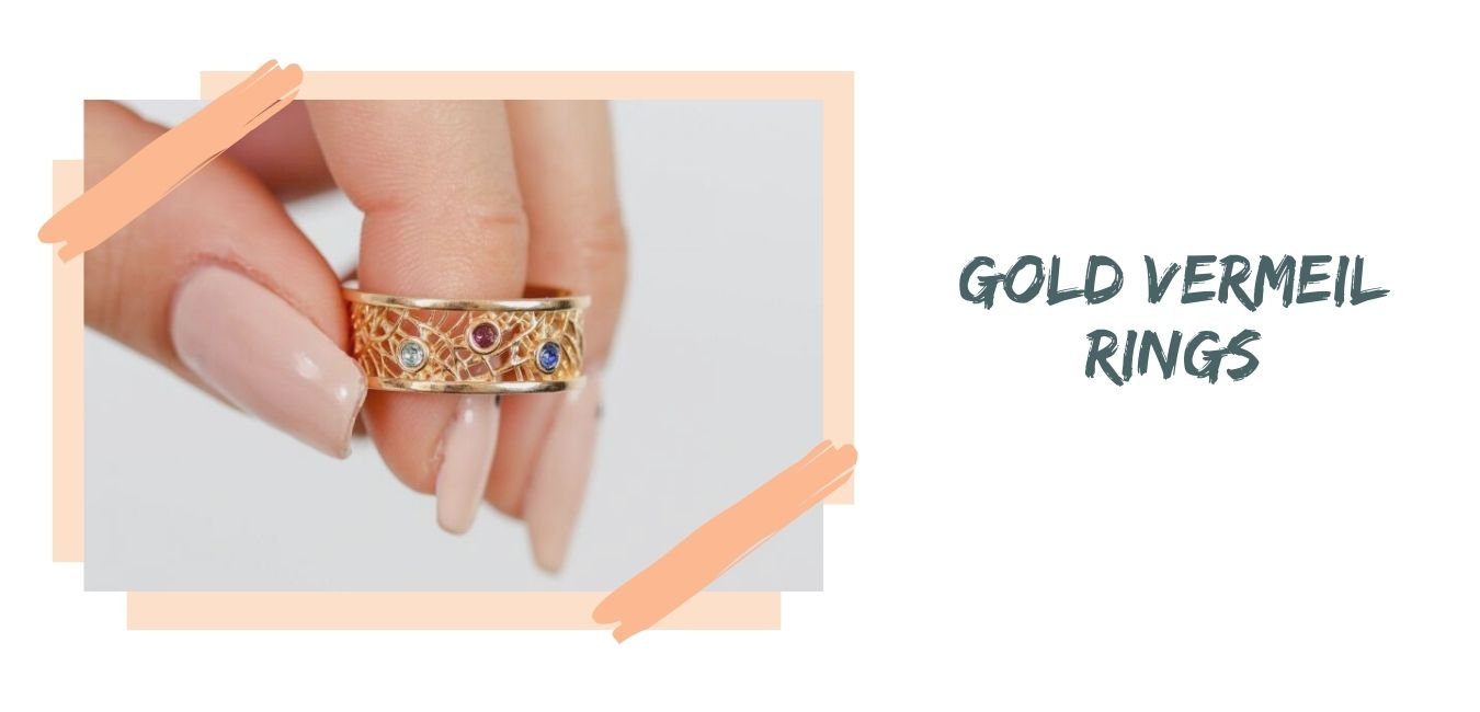 Gold Vermeil Rings